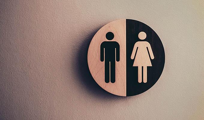 アラフィフ美魔女をトイレで強引に!